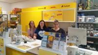 v.l.n.r.: Anna Lena Reese, Erika Mockenhaupt, Astrid Dumke