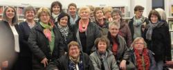 Die Landfrauen mit der Kreuztaler Gleichstellungsbeauftragten Monika Molkentin-Syring (links).