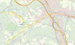 In der Karte sind die Gebiete eingezeichnet, in denen sich die Bewohner vorsorglich mit Trinkwasser bevorraten sollten